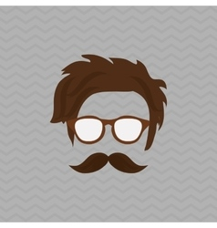Hipster style icon design vector