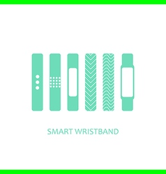 Wearable bracelet vector