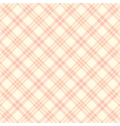 Seamless pink plaid pattern endless vector