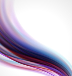 Abstract smooth light background vector image vector image