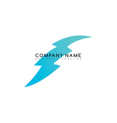 Bolt exclusive brand company template logo vector