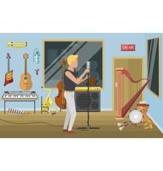 Music studio vector