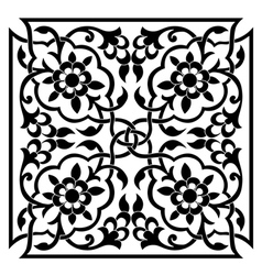 Oriental ottoman design one vector