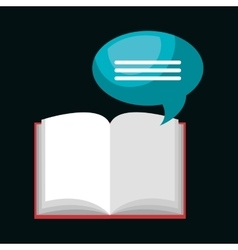 read books design vector image
