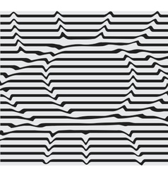 Design monochrome motion twisted twirl vector