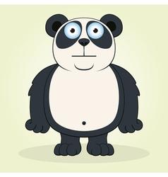 Panda vector image