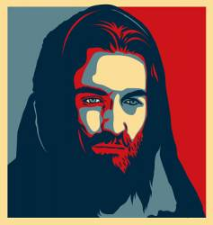 jesus illustration vector image