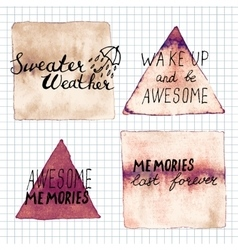 Sweater weather awesome memories memories last vector