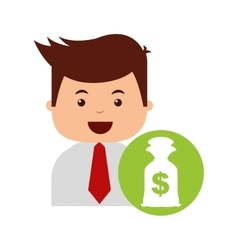 Business economy concept icon vector