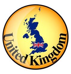 Button united kingdom vector