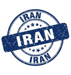 Iran stamp vector