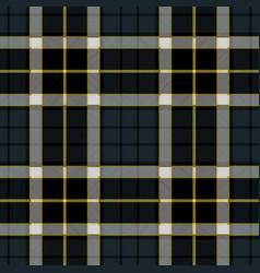 Navy blue tartan plaid seamless pattern vector