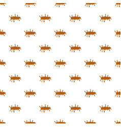 Puddle of caramel pattern vector