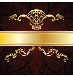 Red Decorative Background vector image