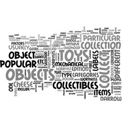 What objects are the most popular in the vector