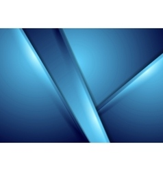 Abstract blue smooth background vector