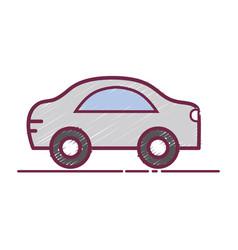 car transportation tool decoration design vector image vector image