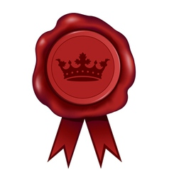 Royal Wax Seal vector image