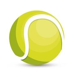 Tennis ball icon design vector
