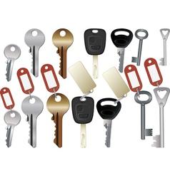 Keys vector