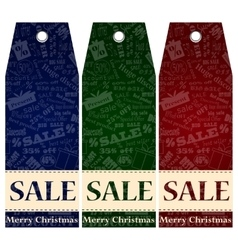 Price label tag winter sale eps 10 vector