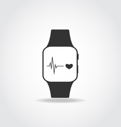 Sport smart watch vector image