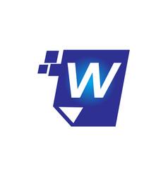 Digital paper initial w vector
