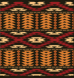 ethnic geometric background vector image vector image