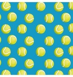 balls tennis seamless pattern design vector image
