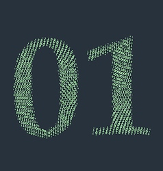 Binary code vector