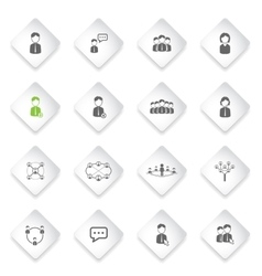 Community simply icons vector