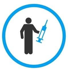Painkiller dealer icon vector