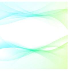 Satin futuristic swoosh light wave background vector