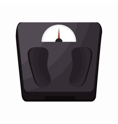 Weight scale fitness sport vector