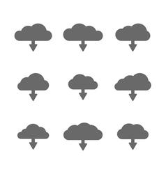 Download cloud set vector