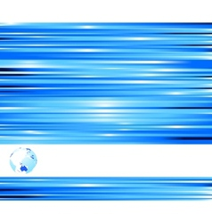 Technological blue colored banner vector