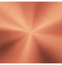 Bronze technology metal background vector