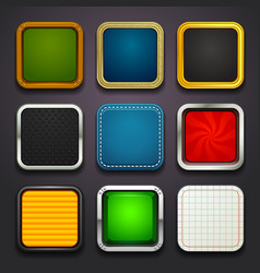 Background for the app icons-part 2 vector