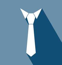 Necktie Icon vector image vector image