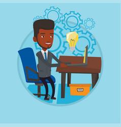 successful business idea vector image