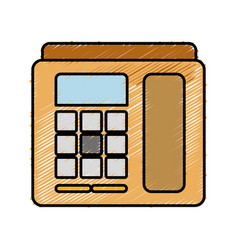 Telephone icon image vector