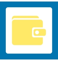 Wallet icon vector