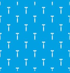 Reflex hammer pattern seamless blue vector
