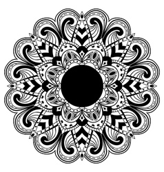 Abstract mandala vector