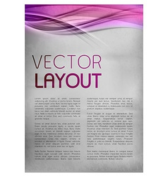 background purple layout vector image