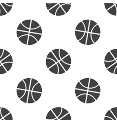 Basketball pattern vector image vector image