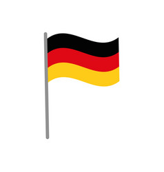 germany country flag icon vector image vector image