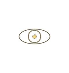 Eye computer symbol vector