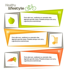 Vitamin template page leaflets fruits and vector
