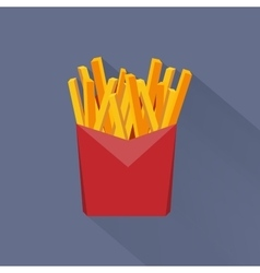 Junk food flat style icons for your design vector